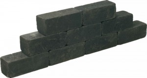 8101409 Blockstone 15x15x40 Black
