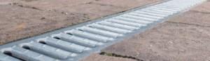 Regenwater-afvoergoot