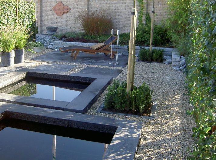Decoratief water steenstore c van den dool rotterdam - Tuin grind decoratief ...